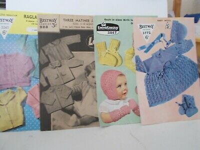 VINTAGE baby KNITTING PATTERNS (4)