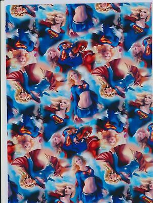 Super women hydrographic film hydro dipped 50cm width, various lengths