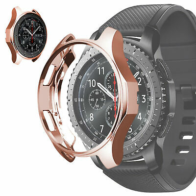 Soft TPU Protector Watch Case Cover For Samsung Gear S3 Frontier / Galaxy 46mm