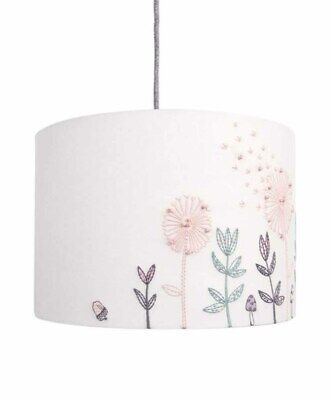 Mamas & Papas Lilybelle Ditsy Floral Embroidered Dandelions Lampshade