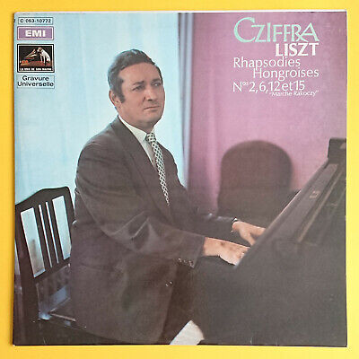 Gyorgy Cziffra (1921-1994) - Hungarian pianist and composer - Rare signed album