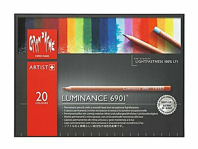 Caran D'ache Luminance Colored Pencils 20 Color Assortment