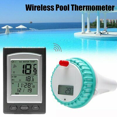 Digital Thermometer Pool Wasser Wireless Poolthermometer Temperaturfühler