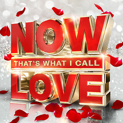 NOW THAT'S WHAT I CALL LOVE 3 CD ALBUM SET (Released November 18th 2016)