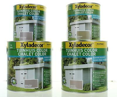 Xyladecor Waterproof Shed Fence Decking Stain 1L or 2.5L 3 Colours Wood Protecti
