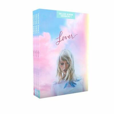 Taylor Swift CD - Lover: Journal no1,2,3,4 (ALL Deluxe Album Version) SEALED!!!