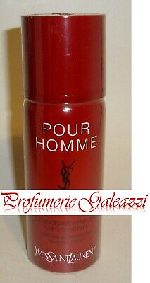 YSL POUR HOMME PERFUMED DEO (DEODORANTE) NATURAL SPRAY - 100 ml