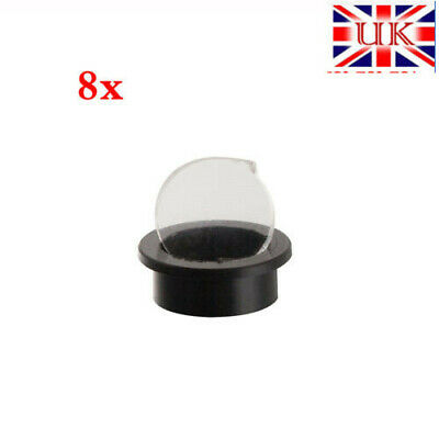 For Archery Compound Bow Peep Sight 8X Times Crystal Glass Clarifier Lens 1PC FB