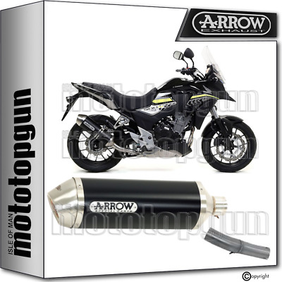 Arrow Kit Silencer Nocat Homologated Race-Tech Black Honda Cb 500 X 2019 19