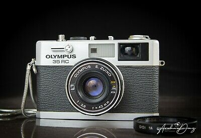 OLYMPUS 35 RC Rangefinder 42mm f/2.8 35mm Film Camera Lens very good condition