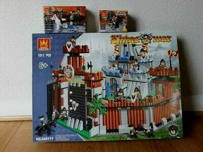 Wholesale Bundle Job Lot  Toys Blocks Lego Compatible Large Castle Knights 3 Box