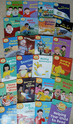 Read with Biff, Chip and Kipper Levels 4-6 24 books