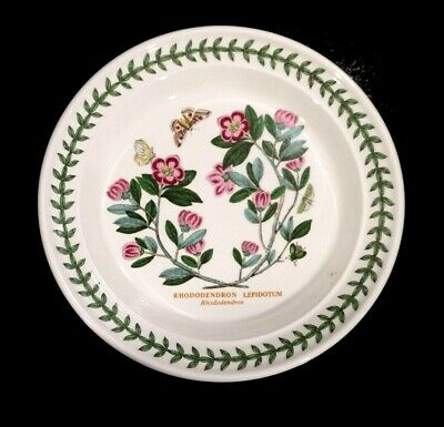 Beautiful Portmeirion Botanic Garden Rhododendron Bread Plate