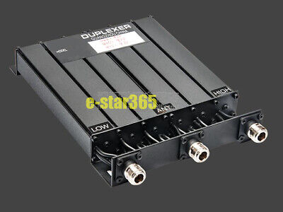 65W Duplexer UHF 6 CAVITY DUPLEXER for radio repeater N connector UHF Duplexer