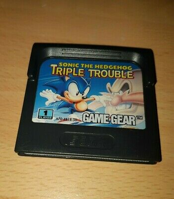 Sonic The Hedgehog Triple Trouble - Sega Game Gear - PAL