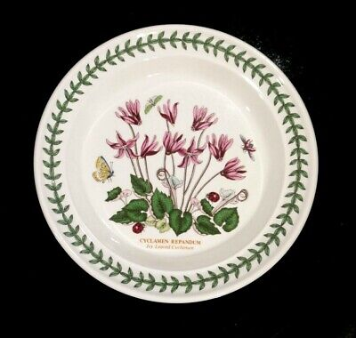 Beautiful Portmeirion Botanic Garden Ivy Leaved Cyclamen Bread Plate