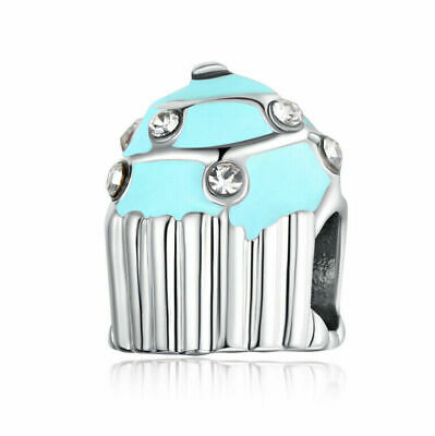 NEW European Silver plated Charm Bead Fit sterling 925 Necklace Bracelet D#147