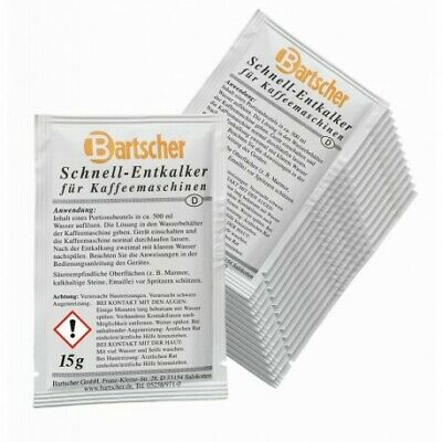 Détartrant machine à café Bartscher - Lot de 30 doses
