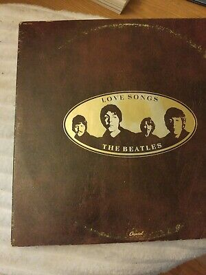 1977 Capitol Records The Beatles Love Songs 2 LP Records