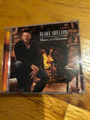 Blake Shelton Cheers Its Christmas.Blake Shelton Cheers It S Christmas 6 04 Picclick