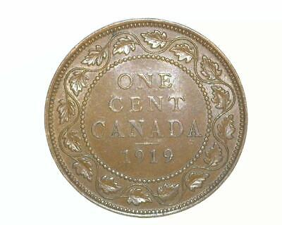 CANADA 1919 LARGE CENT KM21 *ABOUT UNCIRCULATED-to-UNCIRCULATED* ~WC35
