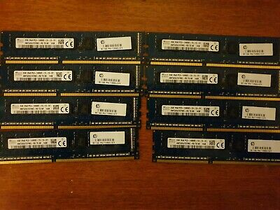 16gb,8 Sticks of 2gb DDR3 server, workstation. Memory.14900E 1866 Speed.Dell ,HP