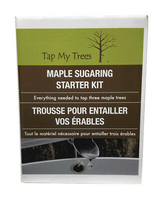 Tap My Trees  Maple Sugaring Plastic Bucket With Starter Kit