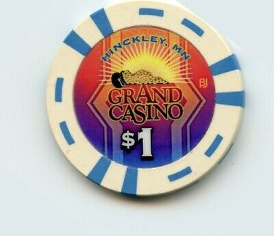 1.00 Chip from the Grand Casino in Hinckley Minnesota