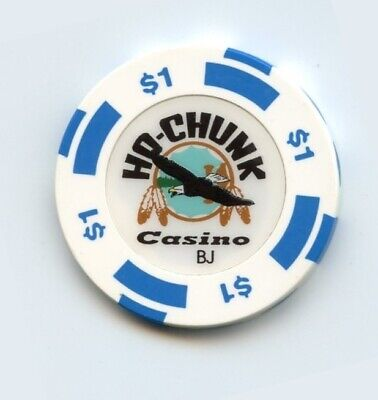 1.00 Chip from the Ho-Chuck Casino in Baraboo Wisconsin