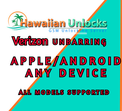 Verizon USA UnBarring Lost/Stolen/Blacklisted {All device supported) PLEASE READ