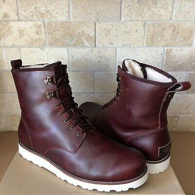 e29f79a1742 UGG HANNEN TL Waterproof Cordovan Leather/ Sheepskin Boots, Us 9 ...