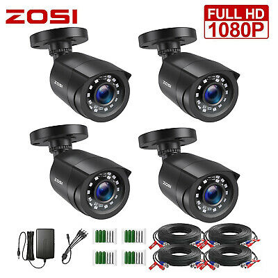 ZOSI HD 1080P 4in1 Security Camera for CCTV System Outdoor IR Night Vision Home