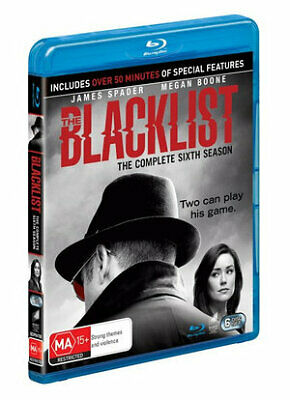 Blacklist - Season 6, The (Blu-ray) (Region A,B,C) New Release