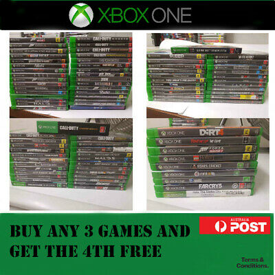 Xbox One Games : Select Your Titles - Xbox One X1 - BUY 3 & GET THE 4TH FREE