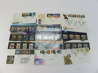 Selection of 15 Official Royal Mail  Postage Stamps Themed Science and Industry
