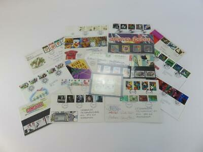 Selection of 18 Official Royal Mail  Postage Stamps Entertainmant and Amusements