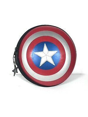 Disney Store Marvel Captain America Art Supply Carrying Shied Case