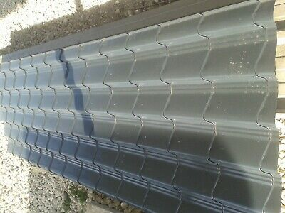 TileEffect metal roofing sheets roof sheeting 0.7mm Anthracite,Plastisol