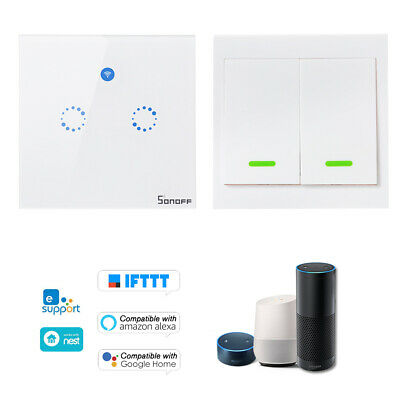 SONOFF T1 WIFI RF Panel Touch 1 2 3Gang Wall Switch Smart