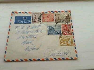 ARGENTINA TO UK 1960s? COVER STAMPS £2.99 POST FREE WORLDWIDE bx4