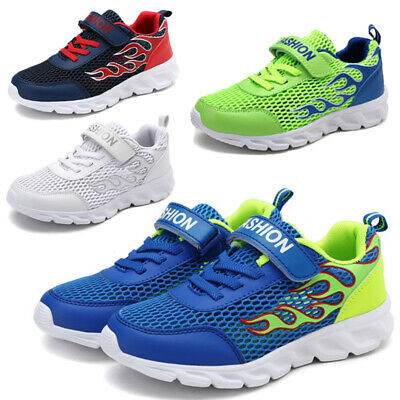 Boys Girls Running Trainers Kids Children Comfort Sports School Shoes Size Mesh