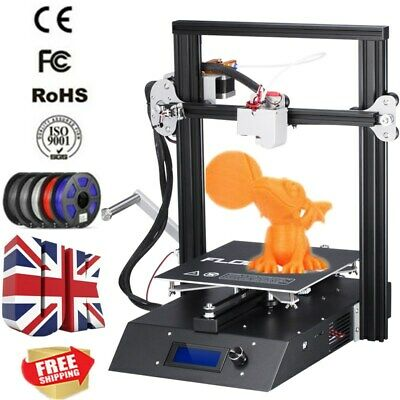 3D Printer High Precision MK8 Reprap Prusa i3 Aluminium DIY Kit 230x230x230mm UK