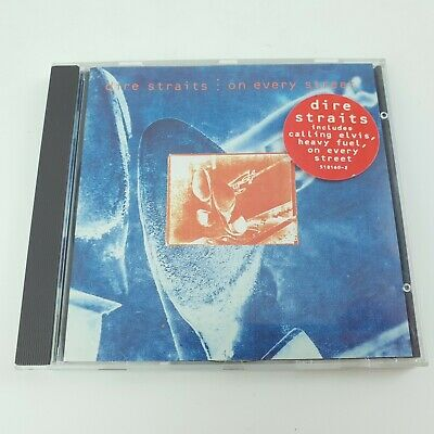Dire Straits ‎– On Every Street CD (1991) Vertigo – 510 160-2