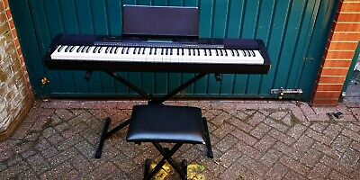 Casio CPD-230R 88 Key Full Size Digital Piano With Stand, mic and more