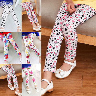 Girls Pants Kids Trousers Children Elastic Pants Casual Trousers Bottoms