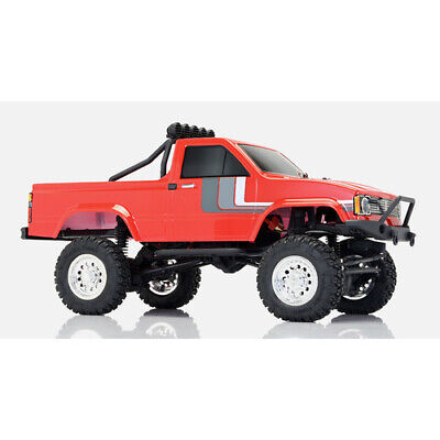 Thunder Tiger R//C Crawler Toyota Hilux Pick-Up Truck Black RTR New Boxed F133