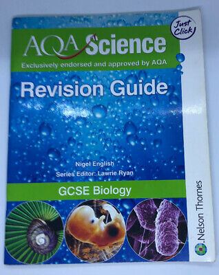 AQA GCSE Physics Biology Revision Guides 3 Books
