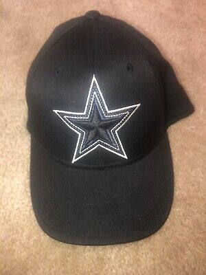 dc2997b26 NFL DALLAS COWBOYS Reebok Fitted Hat Cap White Navy Gray - $20.00 ...
