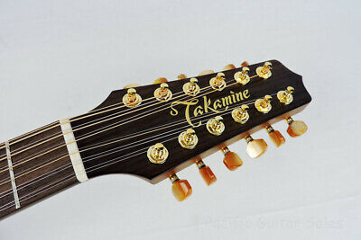 TAKAMINE PRO SERIES Tuner / Set of 6 / Gold w/Amber Button / OEM