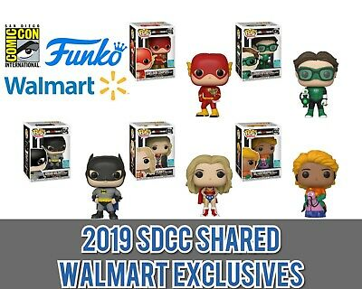 SDCC 2019 SHARED WALMART EXCLUSIVE Funko Pop Big Bang Theory SET *IN-HAND*